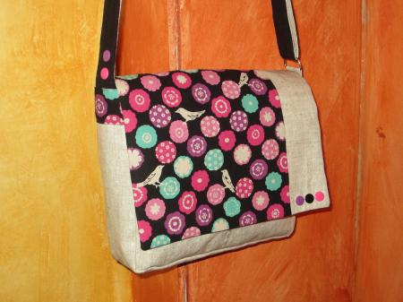 "Sac Besace ""Japanese Girl"""