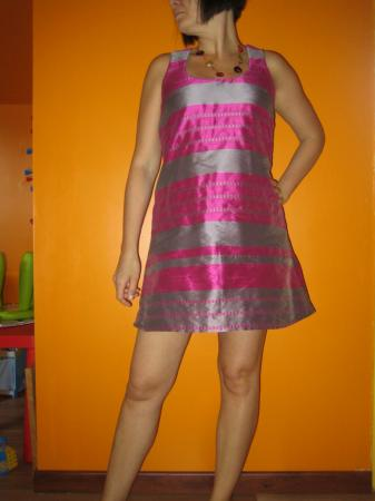Robe rose bonbon